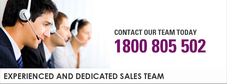 Contact Our Team Today - 1800 805 502