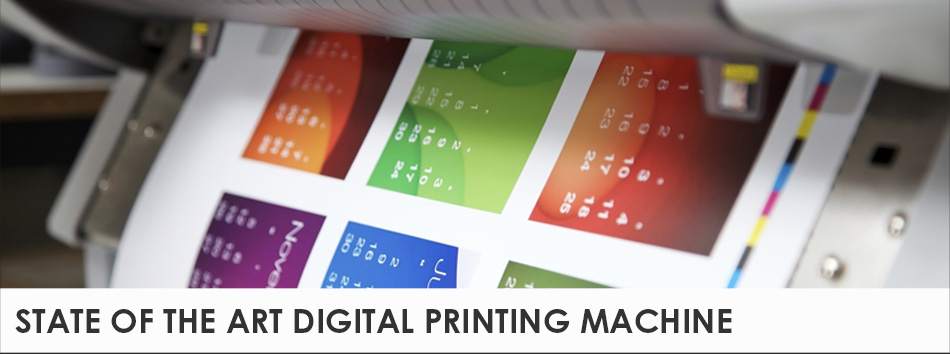 State Of The Art Digital Printing Machine